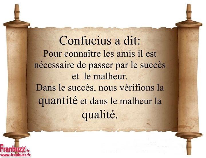 confucius succes malheur | Agressée, Licenciée d'ESCOTA